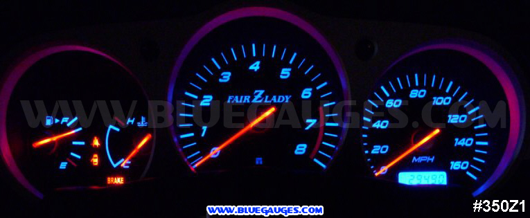 Nissan 350Z Gauge Cluster Backlight Modification