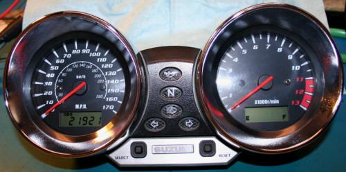 suzuki bandit speedometer