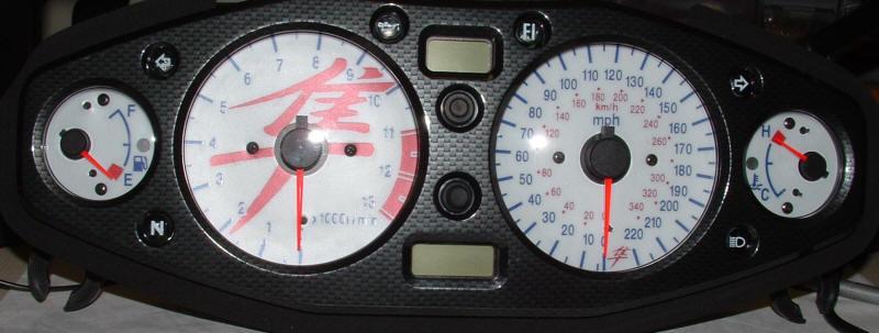Gsxr 1300 Hayabusa Gauge Backlighting Bluegauges Com