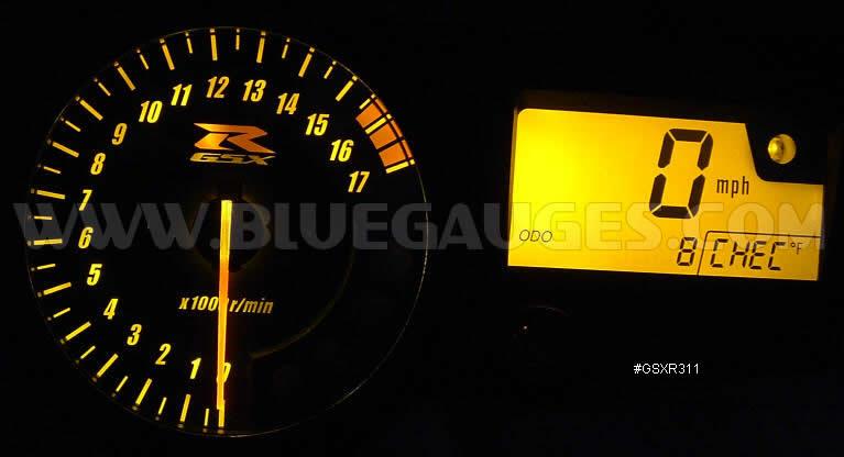 GSXR 1000 Gauge Backlighting - Bluegauges com