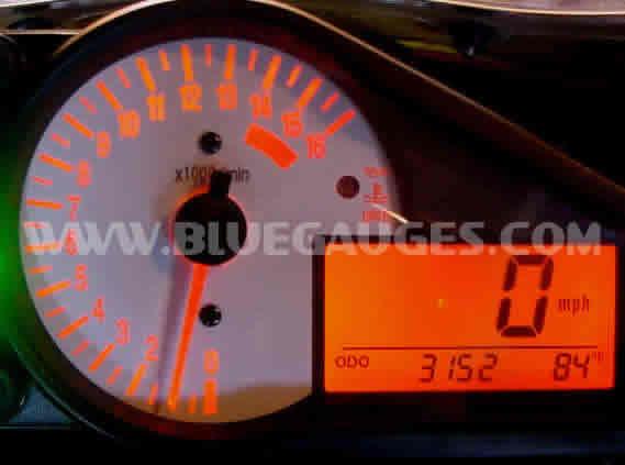 GSXR 750 600 1000 Gauge Backlighting - Bluegauges com