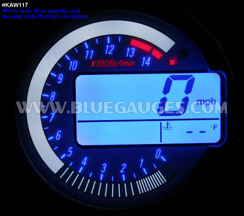 Kawasaki Zx 6r 6rr 10r Z1000 Gauge Backlighting 05 Zx6r Wiring Harness Kaw117