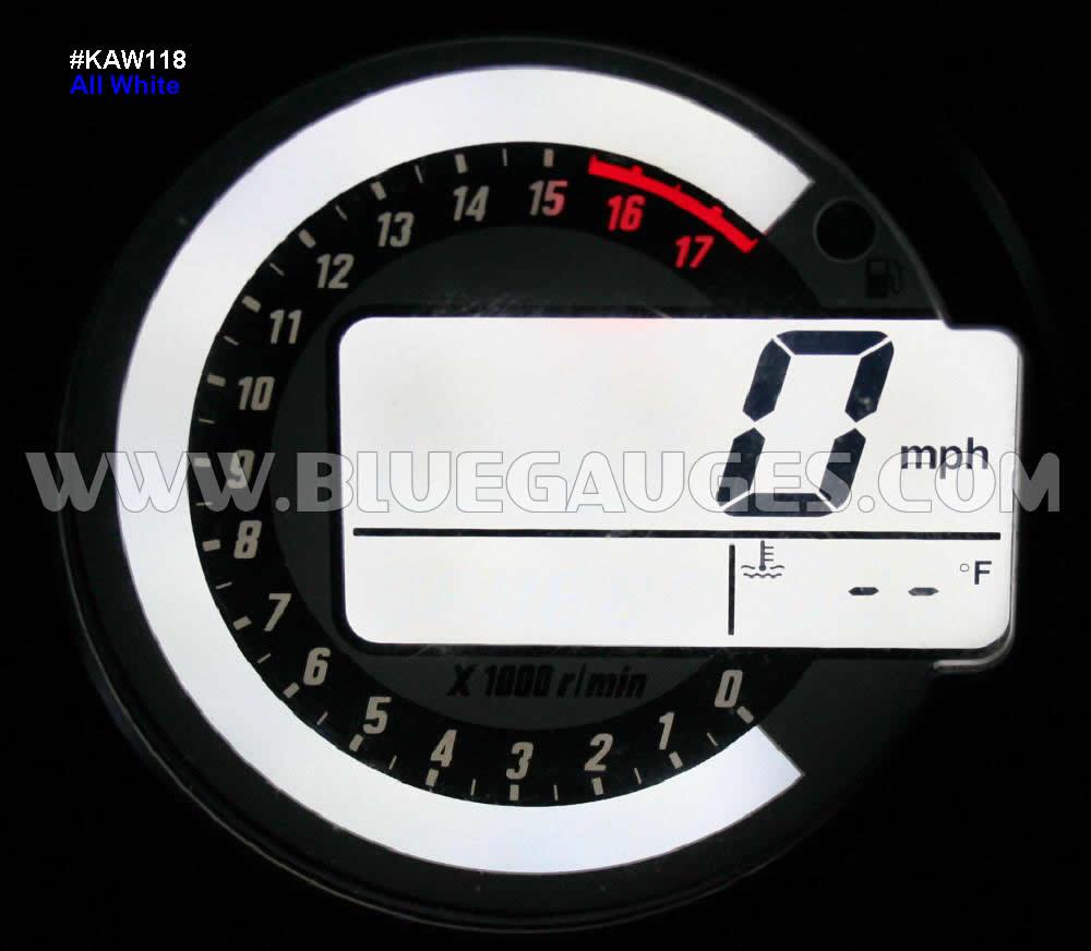 Kawasaki Zx 6r 6rr 10r Z1000 Gauge Backlighting 05 Zx6r Wiring Harness
